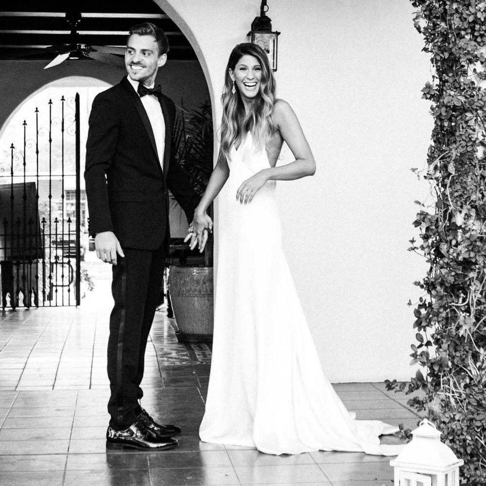 Alexandra Basch's Laid-Back California-Cool Wedding In