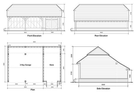 Garage plans. Oak garage plans   Tuinschuur   Pinterest   Frames  Garage and