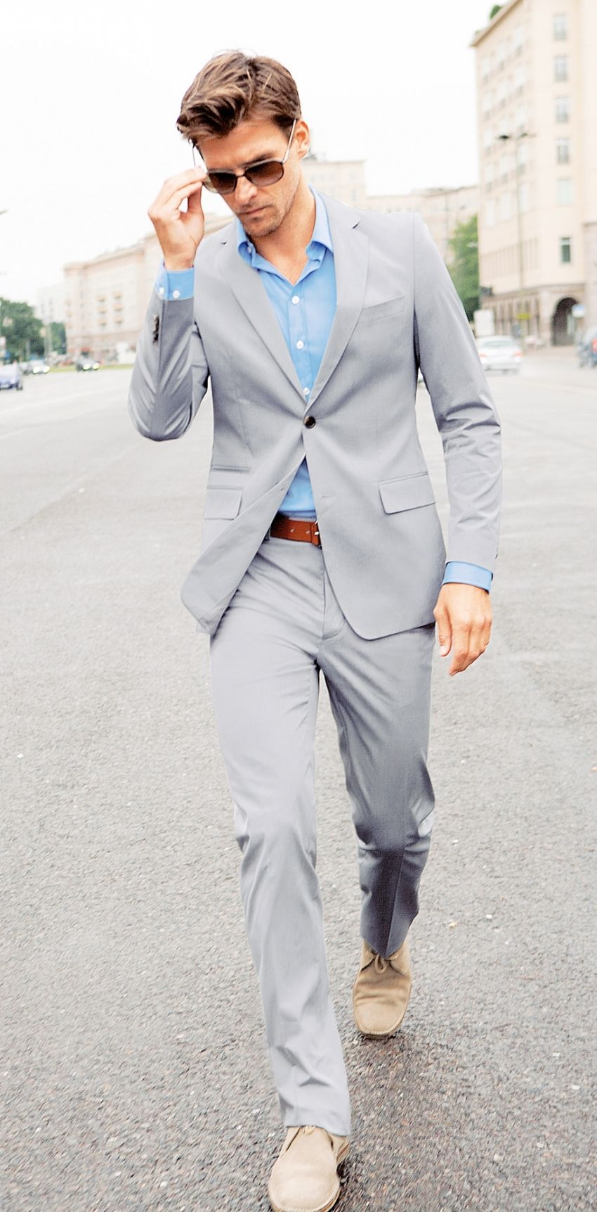 grey suit different shirt but would be greatforour wedding ...