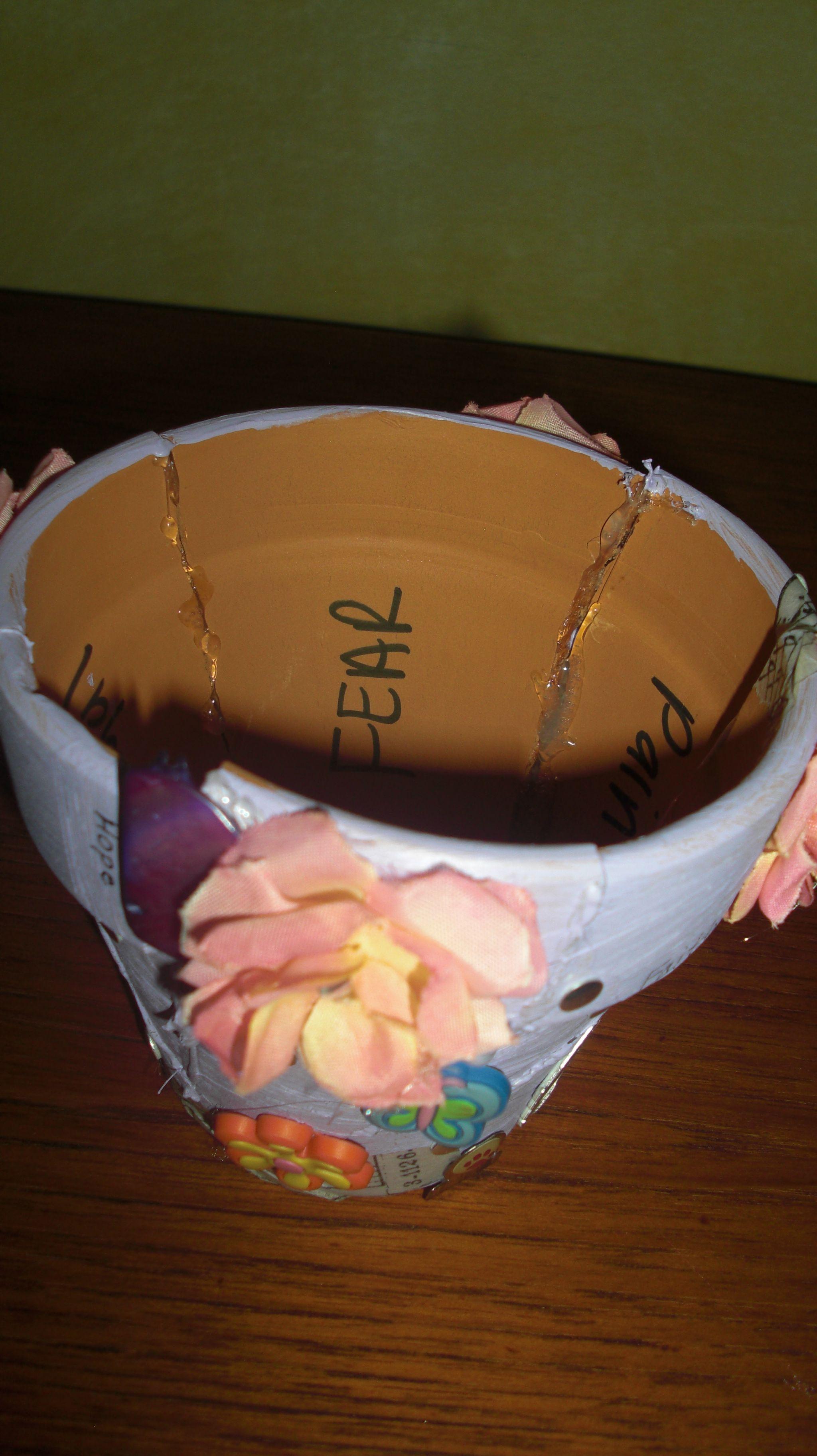 Broken Clay Pot Grief Intervention