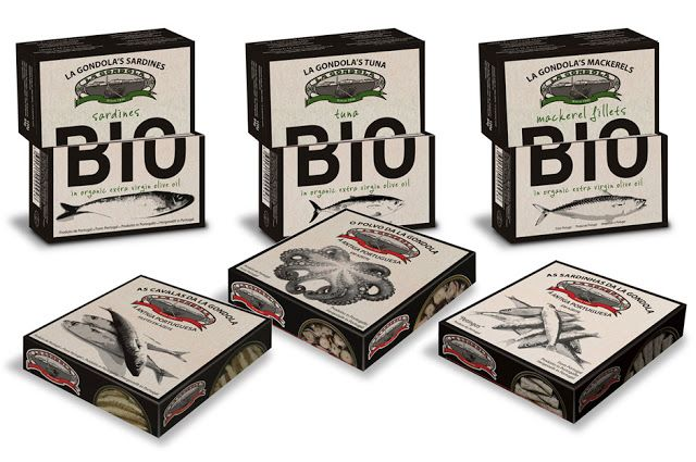 """Bio La Gondola on Packaging of the World - Creative Package Design Gallery """"The boxes was designed to have the billboard effect when stacked and placed on the shelves together"""""""
