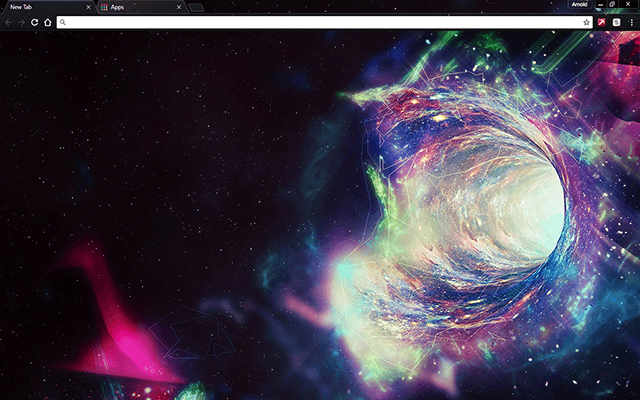 Space Hole Google Chrome Theme | Google Themes in 2019 | Google