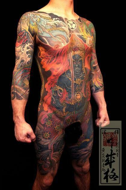 Tatuajes Cuerpo Entero tattoo japones | japanese art tattoo | pinterest