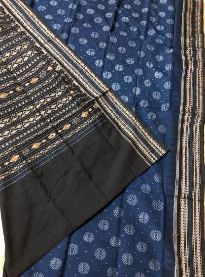 63e6296dd3e887 Handloom Sarees   Buy All over ikat Traditional cotton Saree with Blouse  piece online