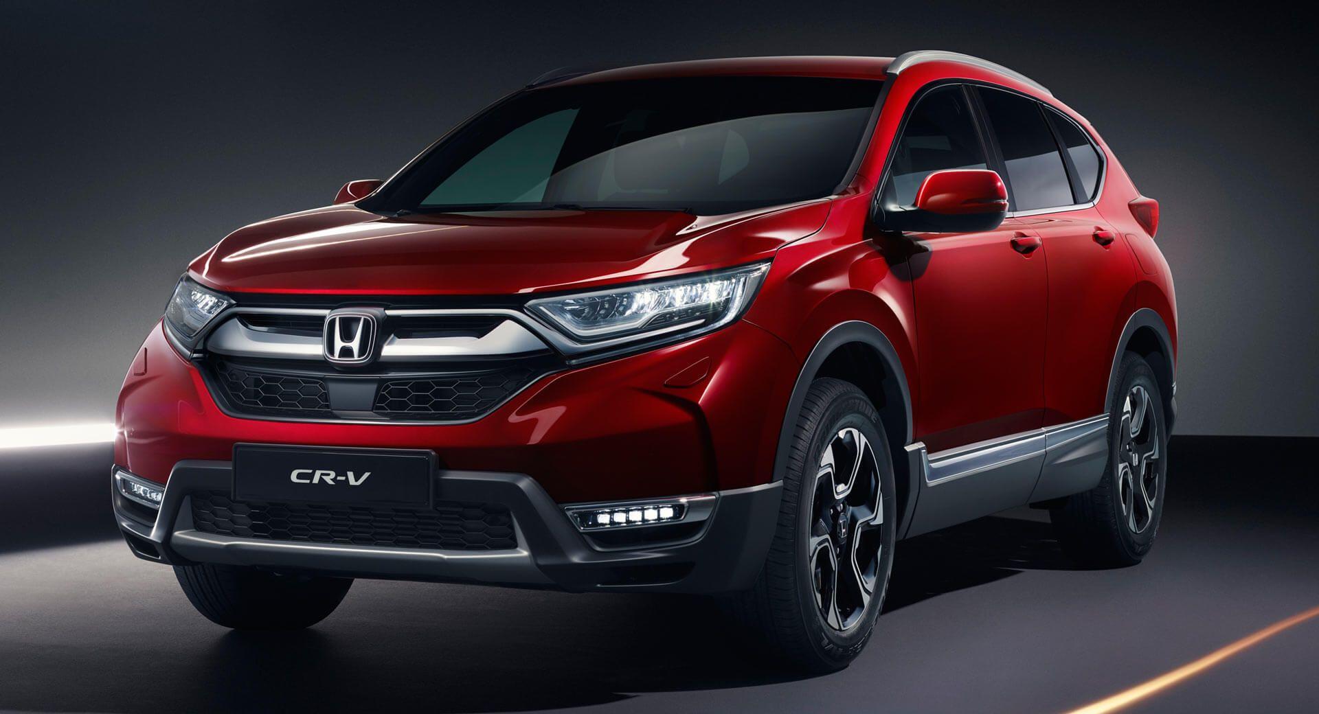 Euro Spec 2018 Honda Cr V Arrives With Hybrid And 7 Seat Options Carscoops Honda Cr Honda Crv Honda Hrv