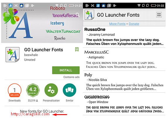 Cara Mudah Merubah Font Android Tanpa Root Tips Tulisan