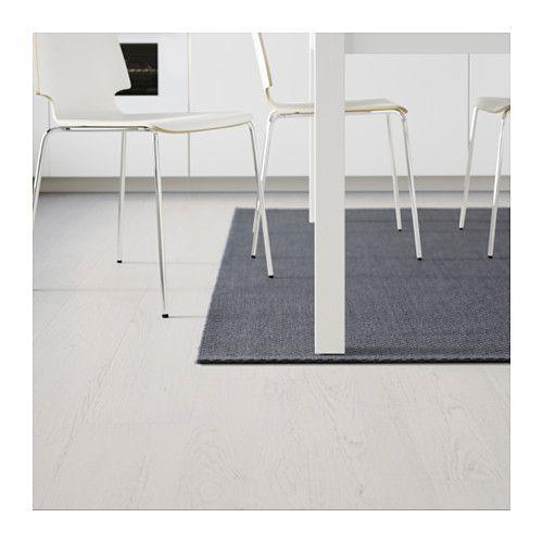 Ikea Morum Indoor Outdoor Dark Gray Rug Flatwoven In