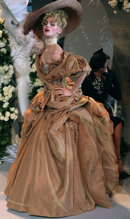 ♥ Romance of the Maiden ♥ couture gowns worthy of a fairytale - Marie-esque #rococco return
