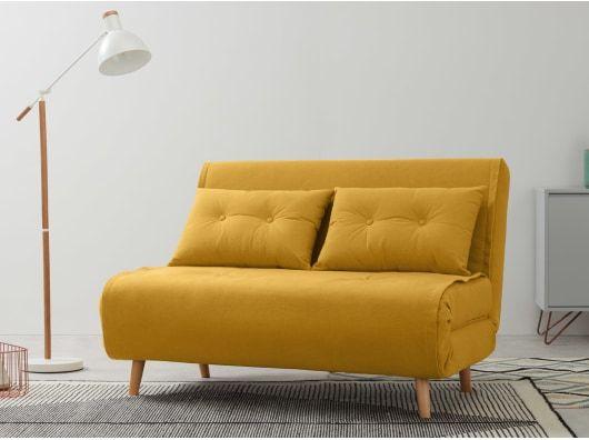 Haru Small Sofa Bed Butter Yellow Sofa Bed Uk Sofa Bed Sofa