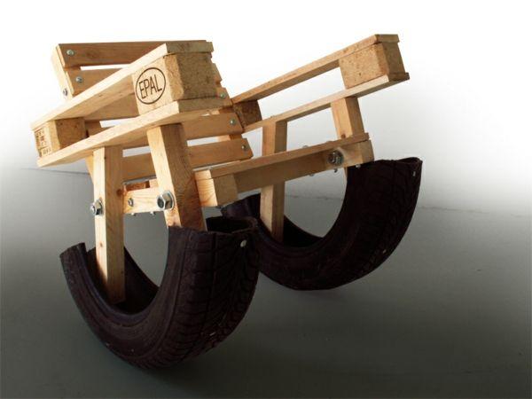 Holzpaletten sessel - Europaletten balkonmobel ...