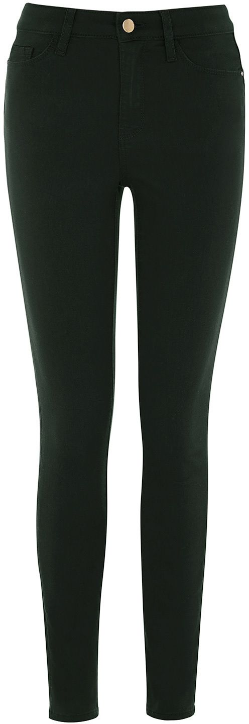 Womens pine green jean from Warehouse - £40 at ClothingByColour.com