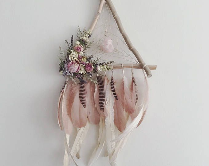 Photo of Dried Flower Dreamcatchers, Wallhanging, Bridesmaid Gifts, Bridal Gift, Boho Bride, Floral Dreamcatcher, Macrame, Wedding Decor