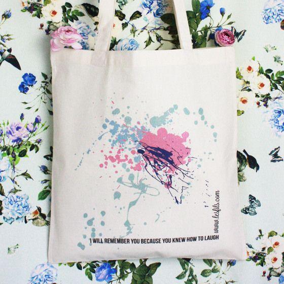 Image of Laugh tote bag