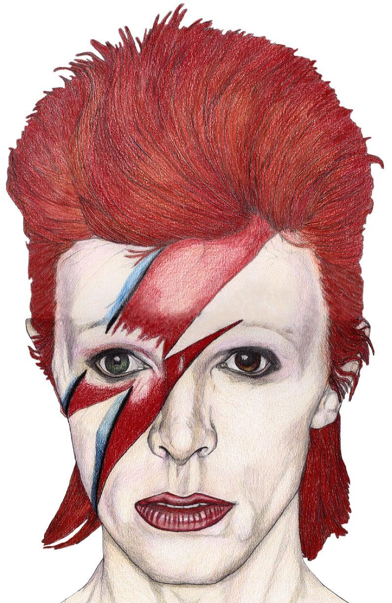 Pin By Jimmy Wang On Tatthree S David Bowie Art David Bowie Tattoo Bowie Tattoo