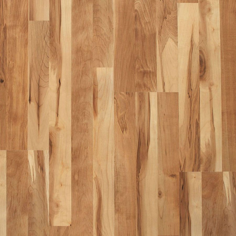 Decent Budget Option At 1 Per Square Foot Lowes Cheapest But Comes In Other Colors Style Selecti With Images Maple Laminate Flooring Laminate Flooring Wood Laminate
