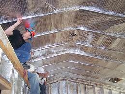 Attic Barrier Insulation Renovacion Del Atico Penthouse De Lujo Almacenamiento En El Atico