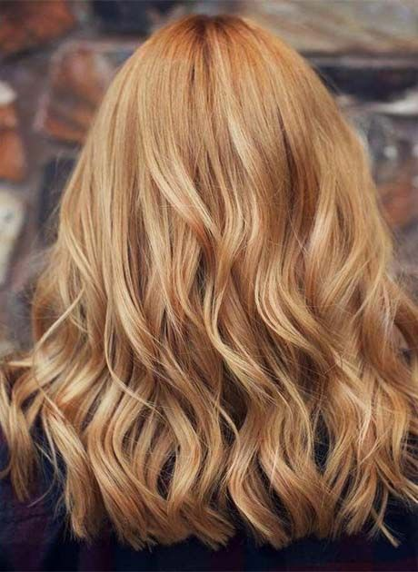 Long Textured Strawberry Blonde Hair 2019 Strawberry Blonde Hair Color Strawberry Blonde Hair Cool Hair Color