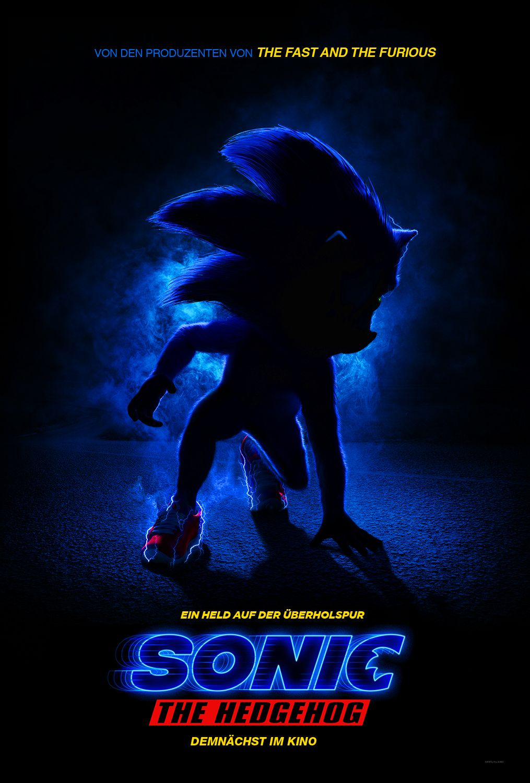 Sonic The Hedgehog Poster Filme Sehen Kino Film Kino
