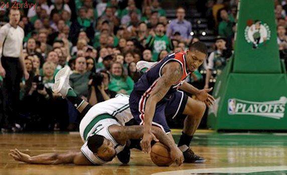 NBA: Boston potřetí porazil Washington a má blízko k postupu