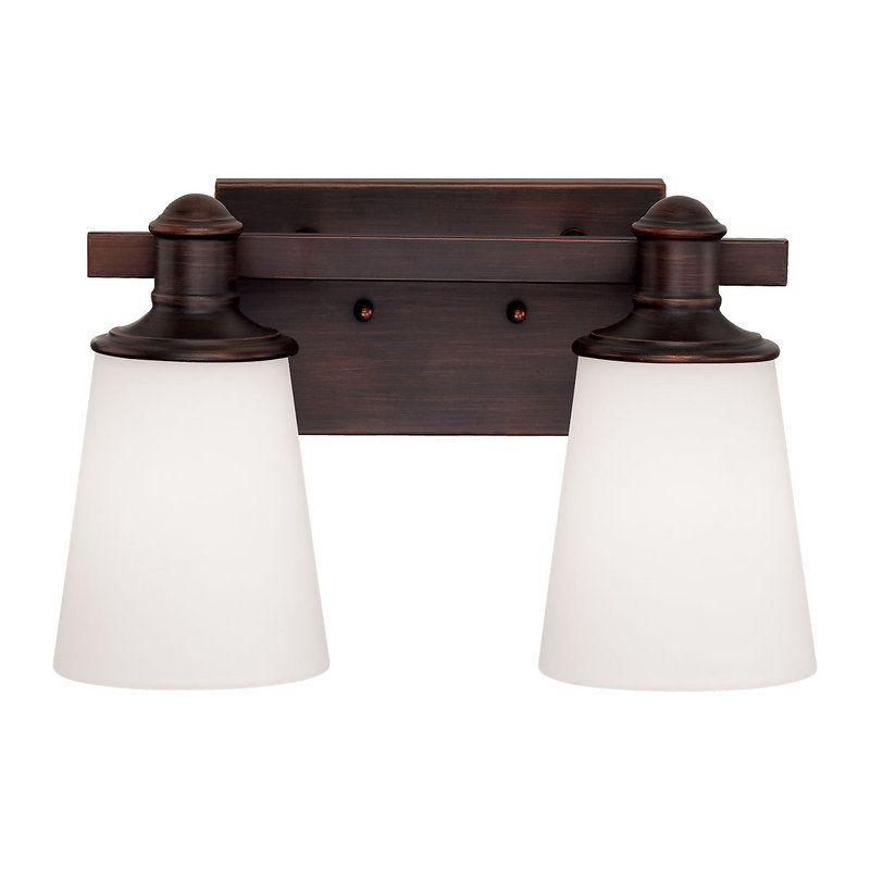 Photo of Millennium Lighting 2162-RBZ Rubbed Bronze Cimmaron 2 Light Bathroom Vanity Light – LightingDirect.com