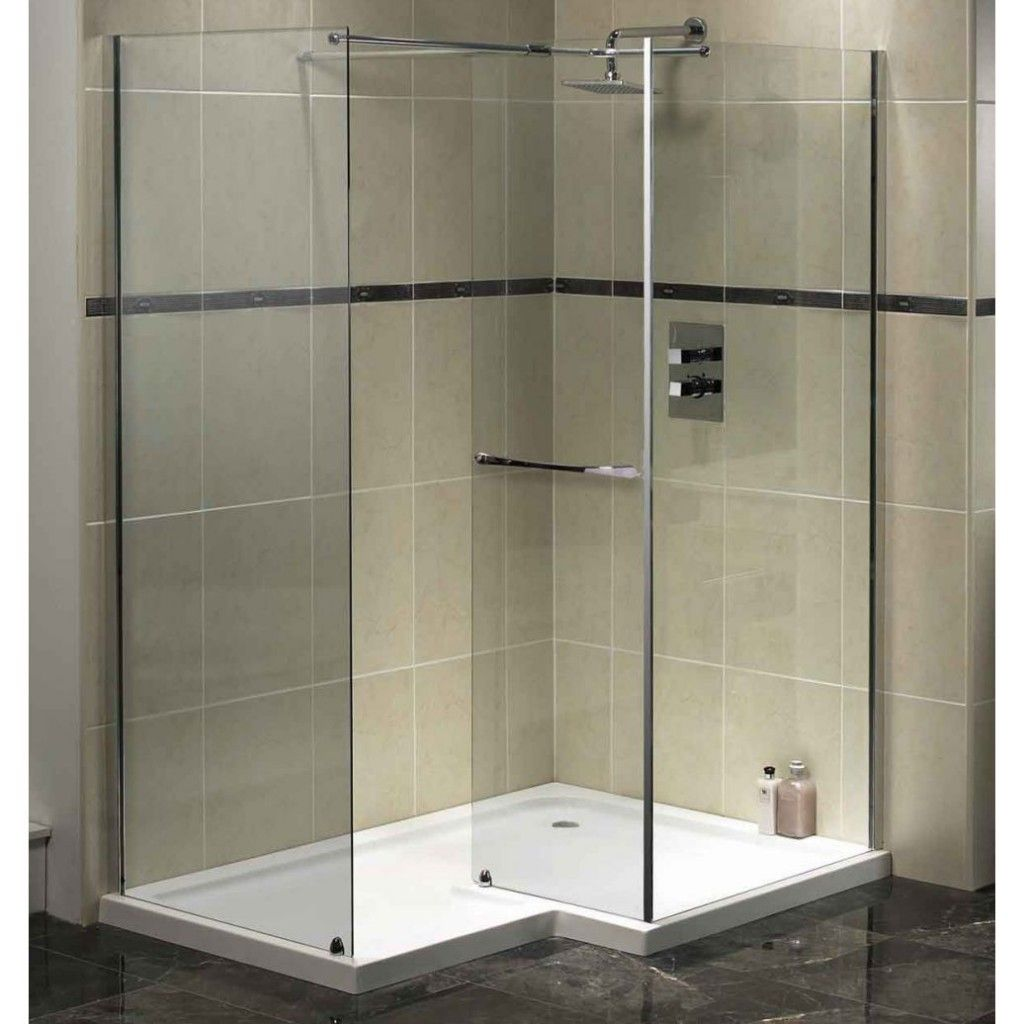 Walk In Shower Ideas For Small Bathrooms With Prefab Shower Stall Units