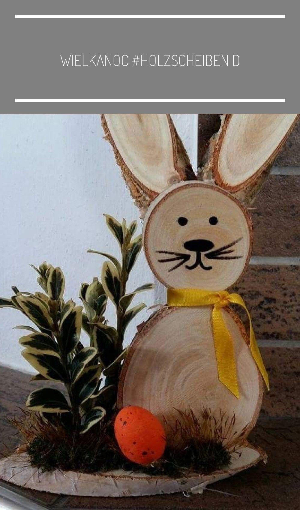 Wielkanoc #holzscheiben deko frühling #holzscheiben deko frühling #holzscheibendeko