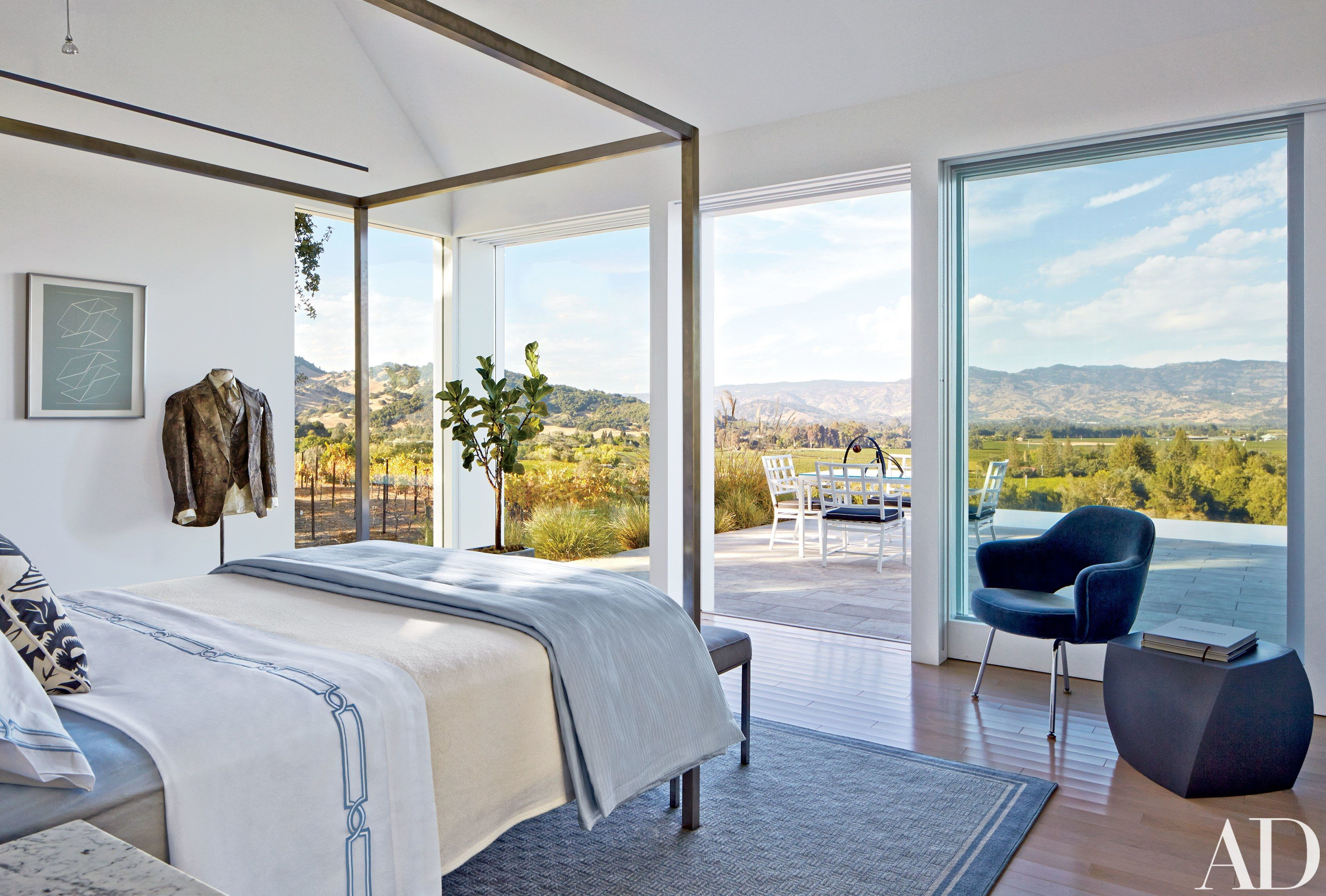 Hugh Newell Jacobsen Designs a Pavilion-Style Napa Valley Home ...