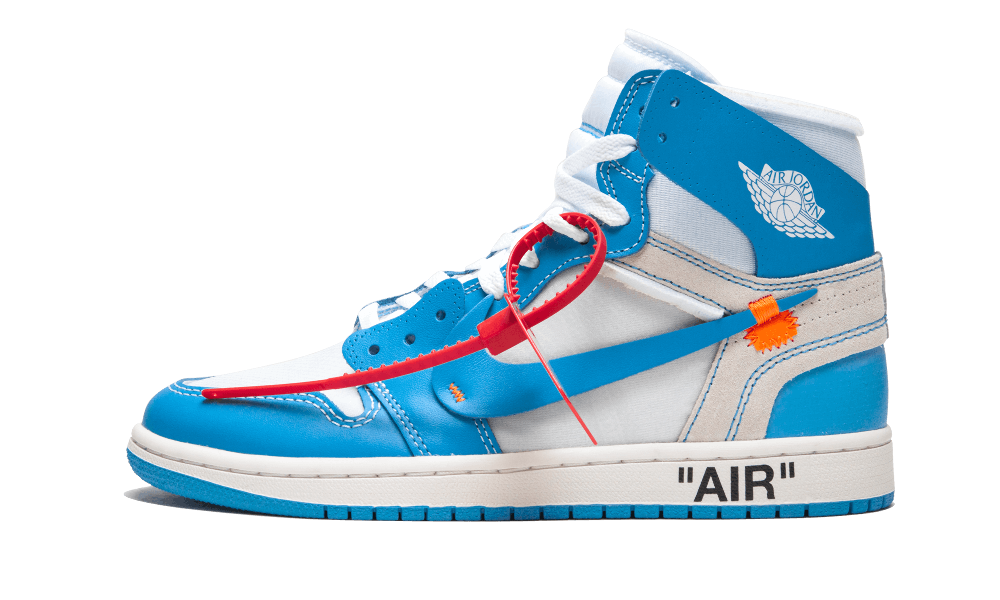 Air Jordan 1 Retro High Off White Unc Aq0818 148 Jordan 1 Blue Air Jordans Air Jordan 1 Unc