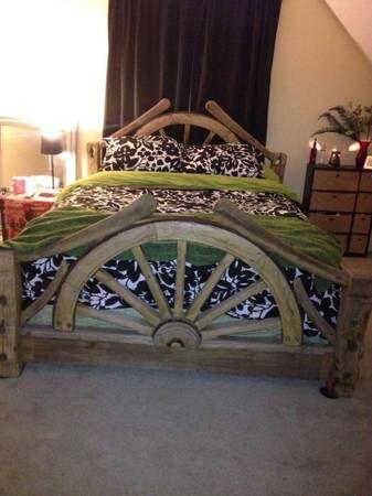 Wagon Wheel Bed Frame The Wagon