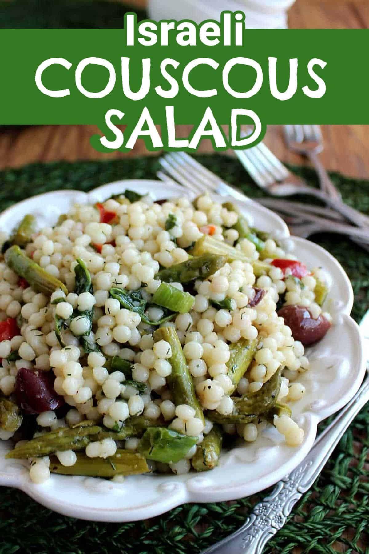 Pearl Couscous Salad Video Healthy Recipes Vegetarian Recipes Couscous