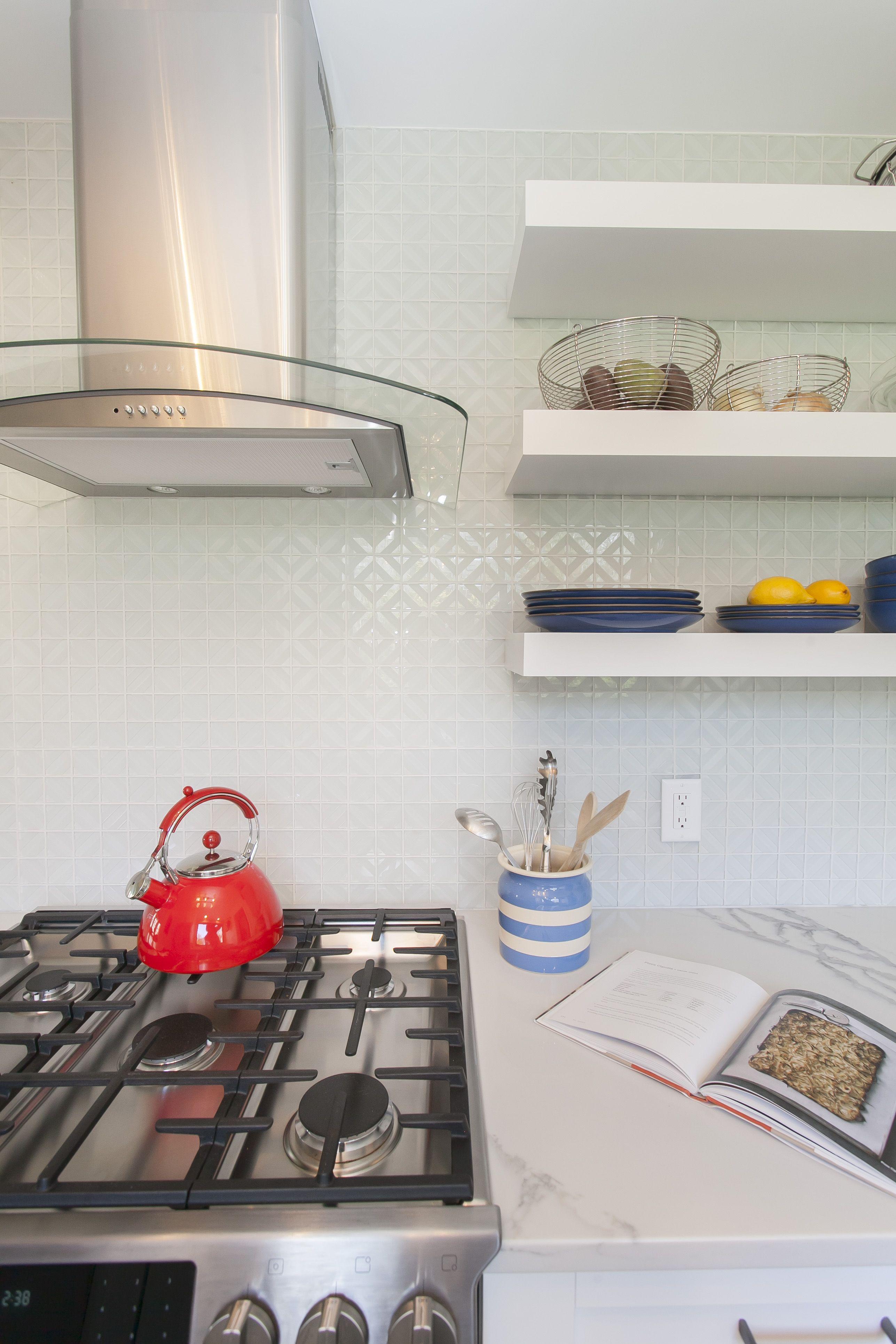Sandblast White 2 X 2 Diamond Mosaic Tile Mosaictile Backsplashideas Tileideas Whitekitchens Openshel Kitchen And Bath Design Kitchen And Bath Bath Design