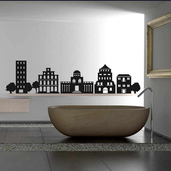 breathe new life to your space with wall stickers | haus | pinterest