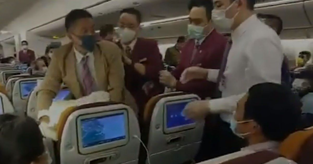 Fox News Thai Airways Passenger Forcibly Restrained After Intentionally Coughing On Crew Member During Delay Report In 2020 Thai Airways Crew Members Latest World News