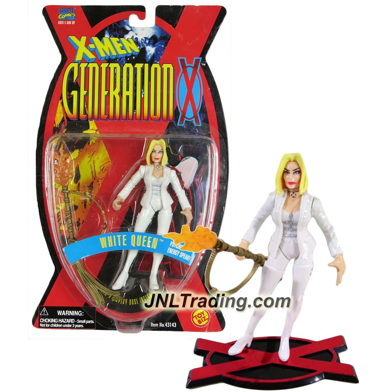 Toy Biz Marvel X-Men Generation X White Queen Action Figure 5 Inches