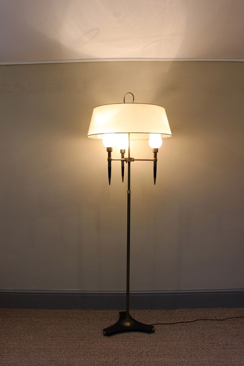 A good quality and very stylish circa 1950s french standing a good quality and very stylish circa 1950s french standing adjustable light greentooth Gallery