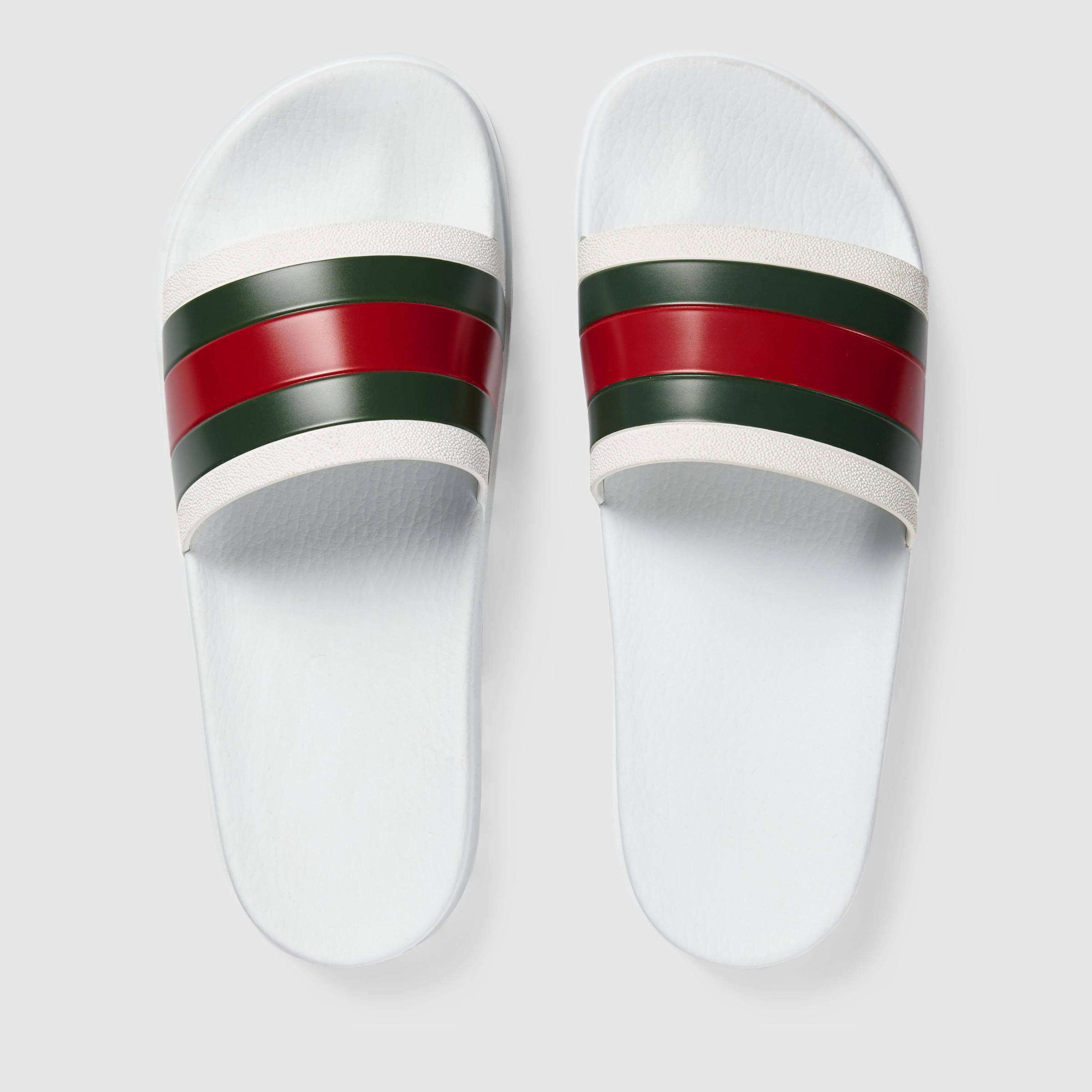 d93cc2faf5503d Gucci Men - Rubber slide sandal -  160