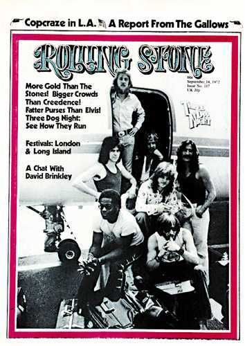 Pin By Shawn Dillon On Music Three Dog Night Rolling Stone Magazine Cover Rolling Stones Magazine