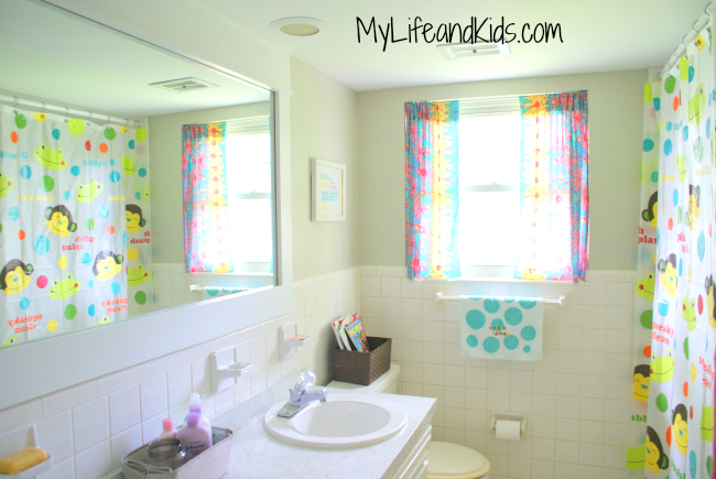 Cheap DIY Bathroom Remodel 2