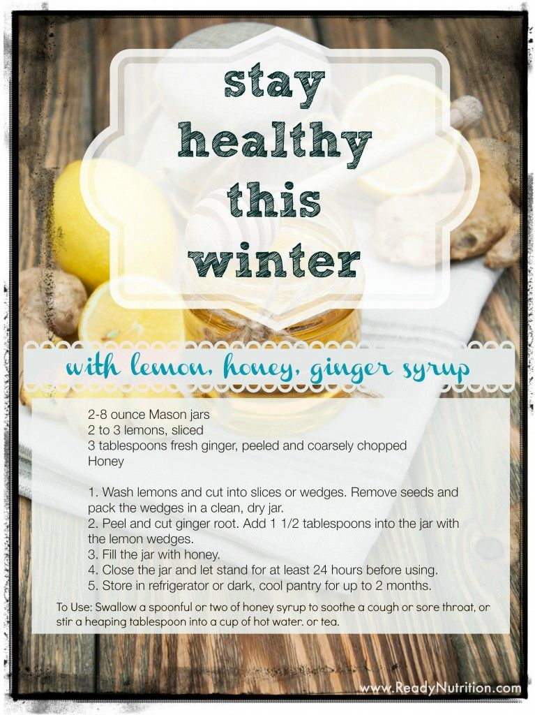 Get your immune system ready for flu season with this natural syrup.