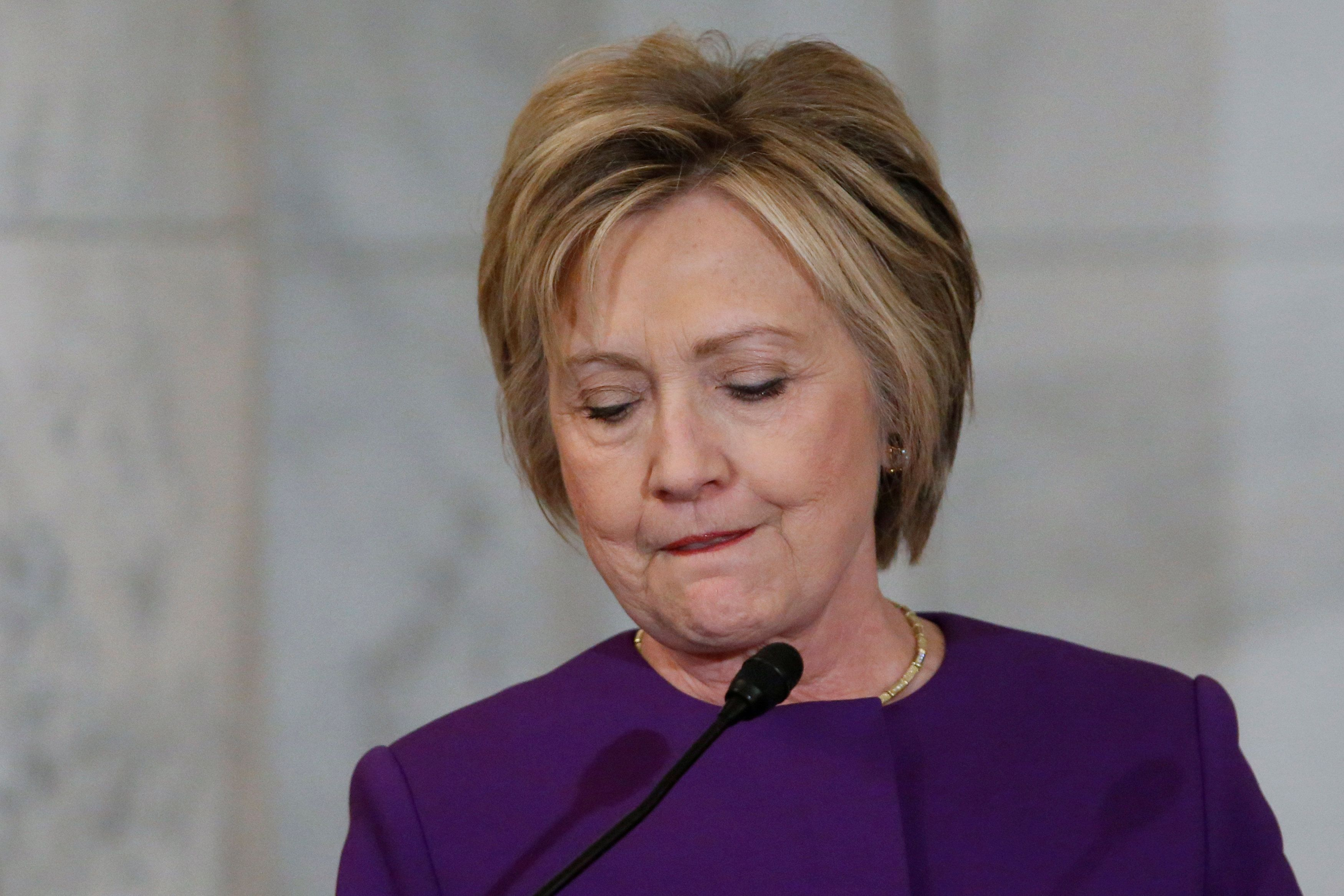 "WASHINGTON (AP) — Hillary Clinton decried the rise of fake news as an ""epidemic"" during a speech on Capitol Hill."