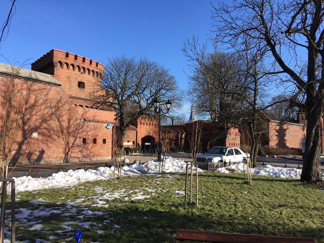 Февраль в Калининграде