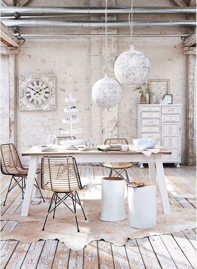 20 Stunning Shabby Chic Dining Room Design Ideas Shabby