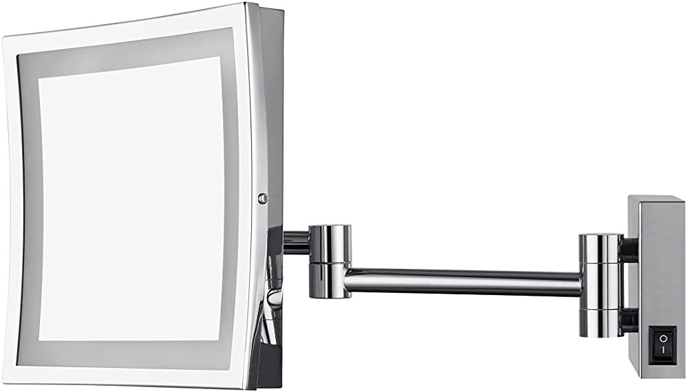 Aechoo Wand Montiert Spiegel Make Up Spiegel Led Beleuchteten