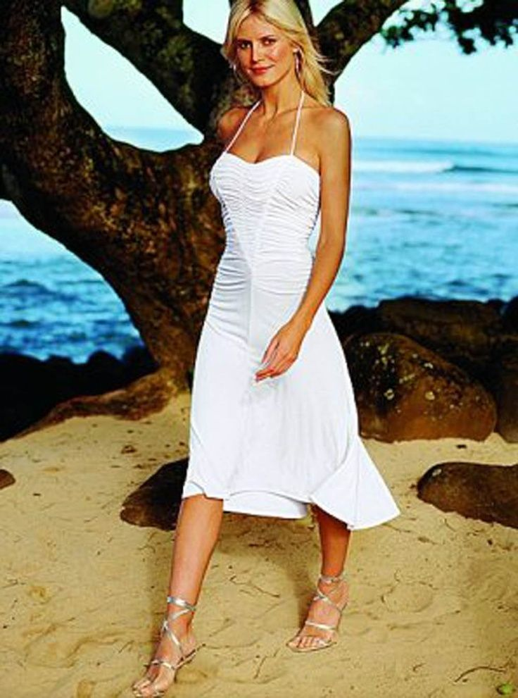 Short Casual Beach Wedding Dresses for Guests Beach Wedding