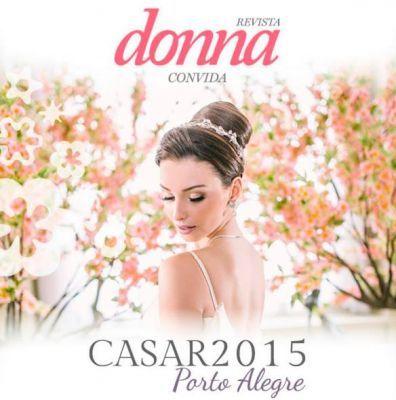 Editorial inspiração para as noivinhas na Revista Donna da Zero Hora.