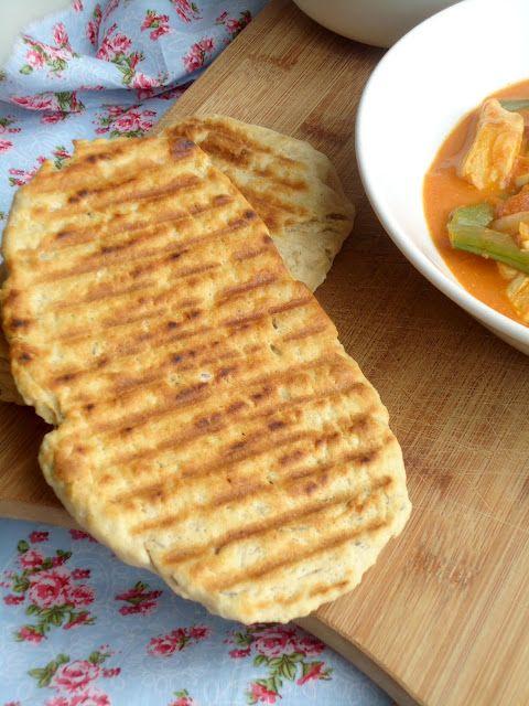 Platbrood Met Karwijzaad Voedsel Ideeen Naanbrood Recept Naan Brood Recepten