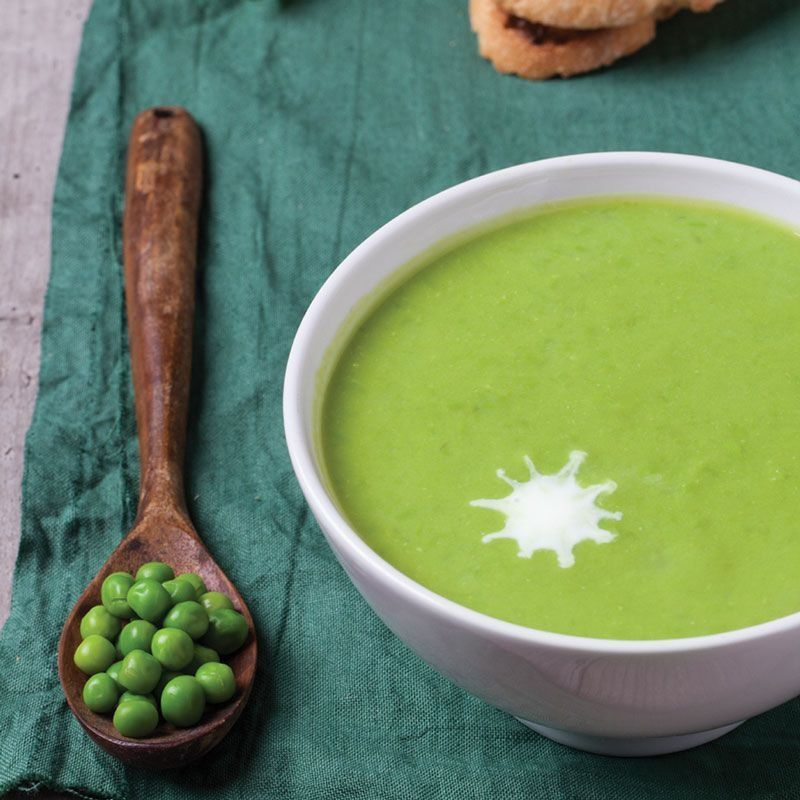 The Scoop | Spice it Up: Wasabi Pea Soup With Ginger Recipe |  Abe's Market