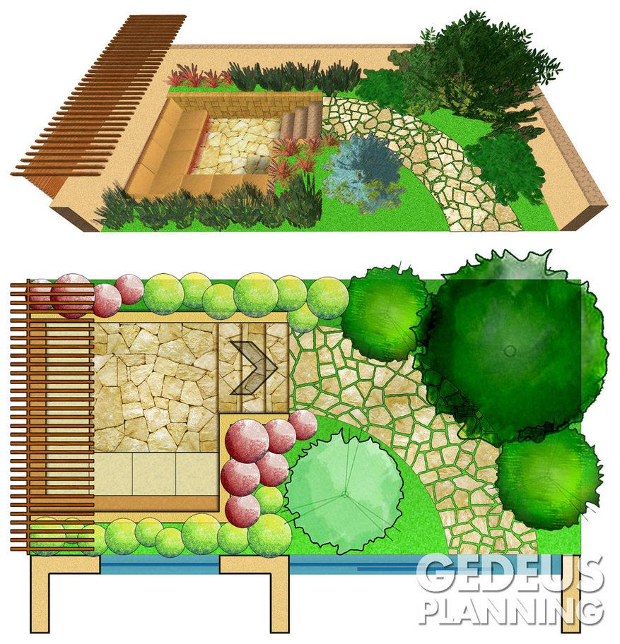 Small Garden Plans small garden designwannad | small garden ideas | pinterest