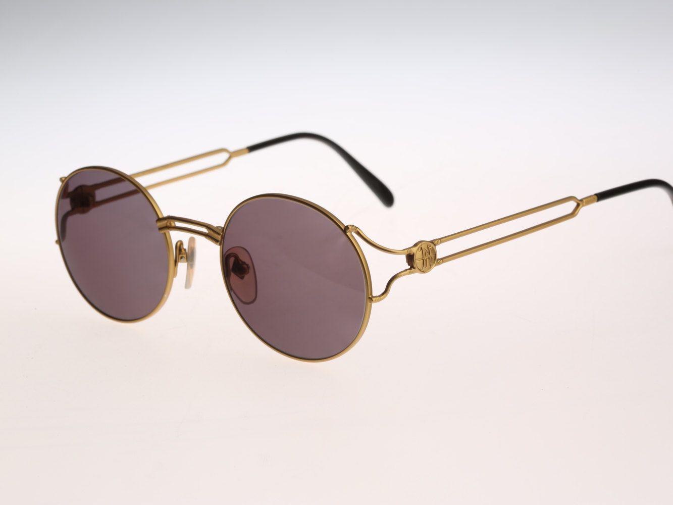 Jean Paul Gaultier  57-6102 Vintage sunglasses NOS  90's designer eyewear