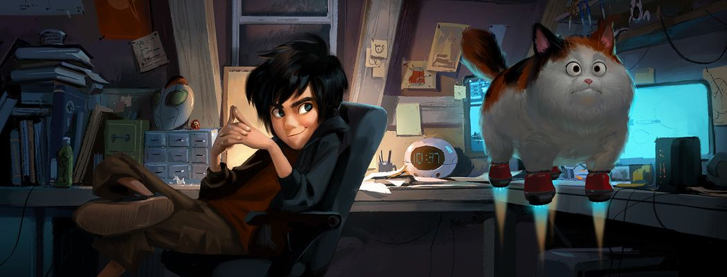 Visual development artist Mingjue Helen Chen was kind enough to share some of the concept art she created for Disney's Big Hero 6. Helen is currently Art Director at Paramount Animation. To see mor...